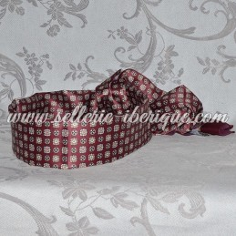 Plastic reinforcment for belt-scarf (fajin)