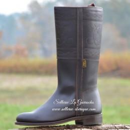 """Leather tall boots """"Cadiz"""" Valverde del Camino"""