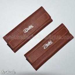Protections for buckles/hooks of monoshank leather stirrups Zaldi