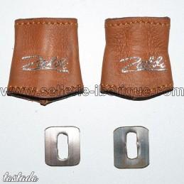 Kit de protections de crochets d'étrivières monobranches Record Zaldi