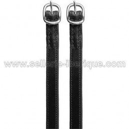 Classical leather spurs straps