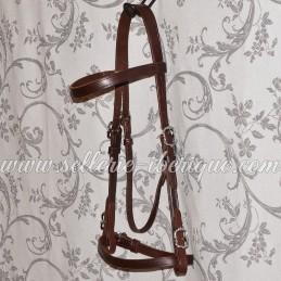 Snaffle portuguese bridle...