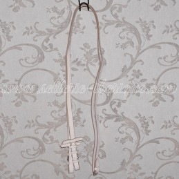 White leather reins