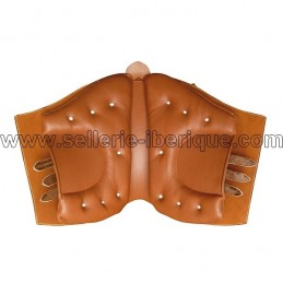 Saddle Riano smooth leather Marjoman