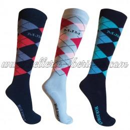 Socks Argyle Marjoman (set...