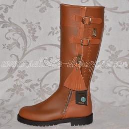 "Leather tall boots ""Huelva..."