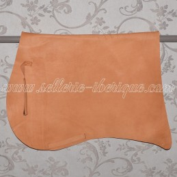 Leather saddle pad