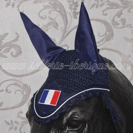 Bonnet anti-mouches drapeau...