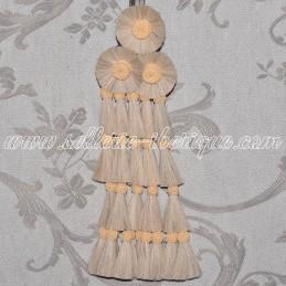 Horsehair mosquero - beige