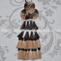 Horsehair mosquero - brown...