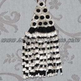 Mosquero soie - noir