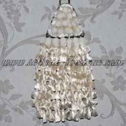 Mosquero soie - blanc