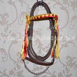 Show leather halter with...