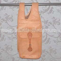 Leather saddlebag for...