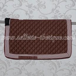 Saddle pad vaquera with...