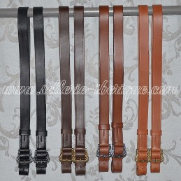 Portuguese leather stirrups...