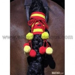 Atacola woolen pompoms for horse tail