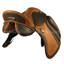 Dressage saddle Sanjorge deep seat Zaldi