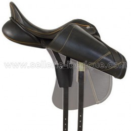 Option anatomical pannel + elastic front girth strap