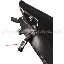 Leather stirrups straps Zaldi