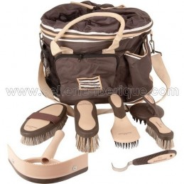 Grooming bag with full grooming kit.