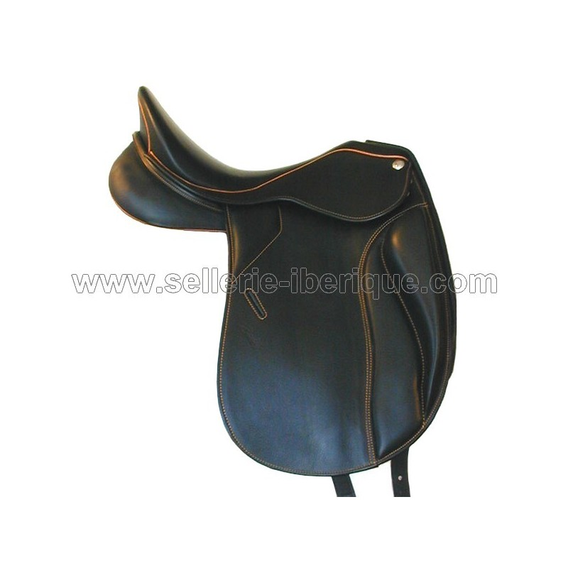 Dressage saddle Lander monoflap Zaldi