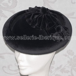 "Hat ""Calañes"" velvet Artesania Pons"