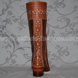 Spanish half-chaps handcraft Zaldi