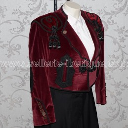 Spanish woman Goyesca jacket Ubaldo