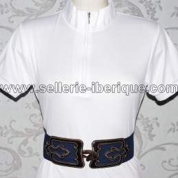 Woman leather and elastic spanish belt Zaldi