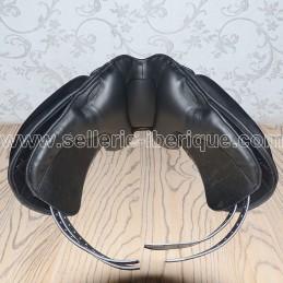 Option anatomical panels + elastic front girth strap