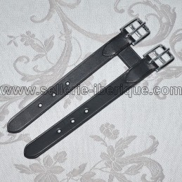 Leather girth extander