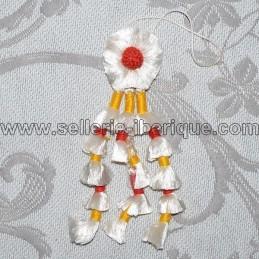 Mini fly fringe silk