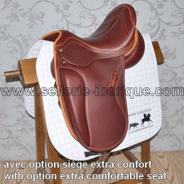 Dressage saddle Passage Zaldi