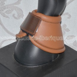 Leather bell boots with velcro fastener Pedro Lopes
