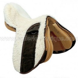 Natural sheepskin zalea for english saddle Zaldi