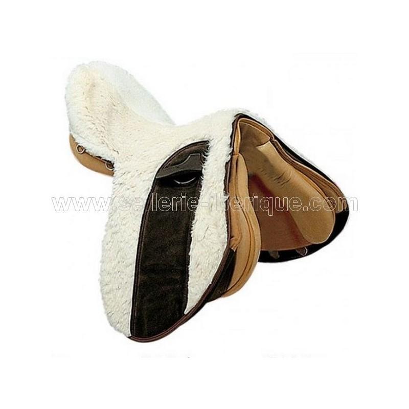 Natural sheepskin zalea for english saddle Zaldi