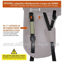 Option multiposition girth strap