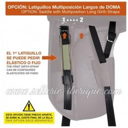 Option multiposition girth strap