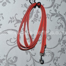 Nylon and rubber reins