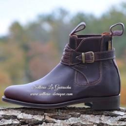 """Leather boots """"Malaga"""" Valverde del Camino"""