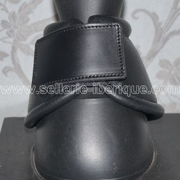 Set of leather and felt leg boots with velcro Pedro Lopes
