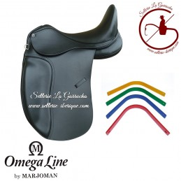 Saddle dressage with interchangeable gullets Omega by Marjoman