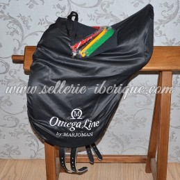 """Saddle dressage with interchangeable gullets """"Omega by Marjoman"""""""