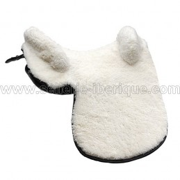 Natural sheepskin zalea for saddle Sabela Plus Gomez