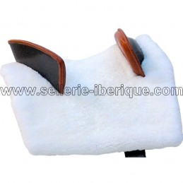 Natural sheepskin zalea for saddle Hispalus Gomez