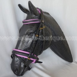 Snaffle bridle english SanJorge Zaldi