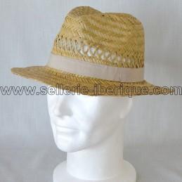 Chapeau en paille modèle 2