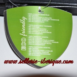 Weymouth bridle english patent leather Tattini