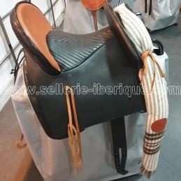 "Vaquera combined saddle ""Pablo Hermoso de Mendoza"" leather seat"